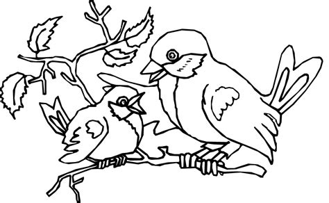 coloring pages of birds in trees coloring pictures birds az coloring pages