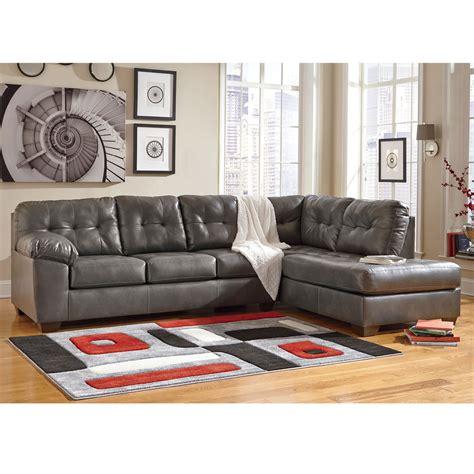 ashley raf sofa sectional signature design by ashley alliston durablend 2 pc