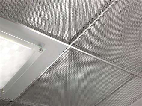 pannelli per controsoffitti pannelli per controsoffitto in lamiera stirata atena