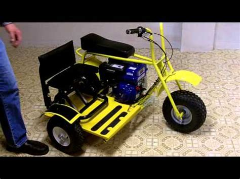 doodle bug mini bike axle mini bike build part 1 mini trike d