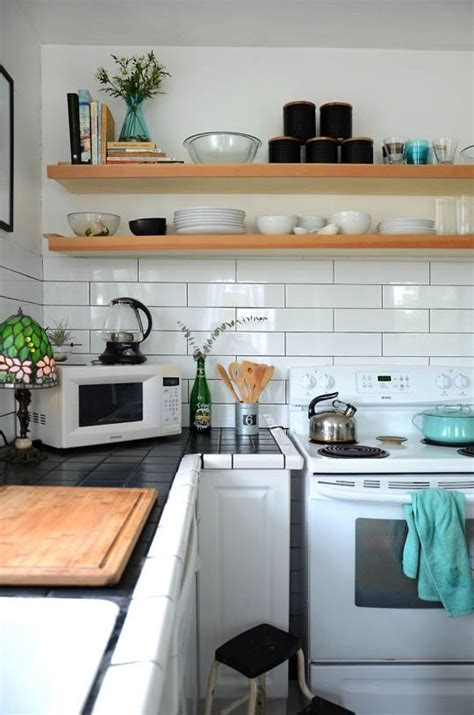 Small Kitchen Cabinets Storage by