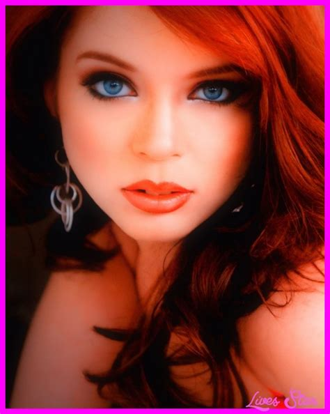 celebrities with red hair and green eyes love the dark red hair and her makeup celebrities
