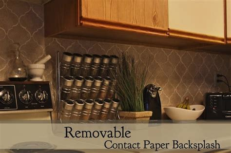 removable contact paper backsplash contact paper able