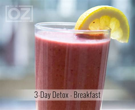Dr Oz 3 Day Soup Detox Diet by 1000 Ideas About Three Day Detox On 3 Day