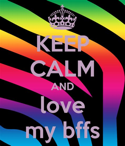 imagenes de keep calm and mejores amigas keep calm and love my bffs poster angie bryant keep