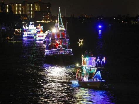 st pete beach boat parade treasure island s lighted boat parade visit st