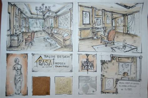 sketchbook interior design classic design interior sketch by dymytryus md on deviantart