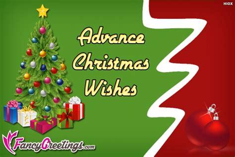 advance happy christmas