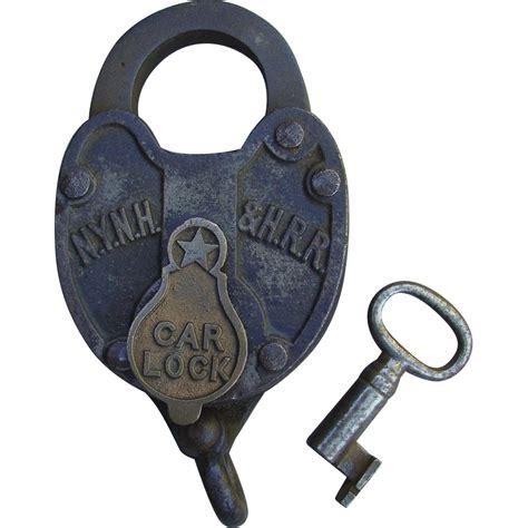 New Lock Key by Antique Iron New York New Hartford Railroad Car