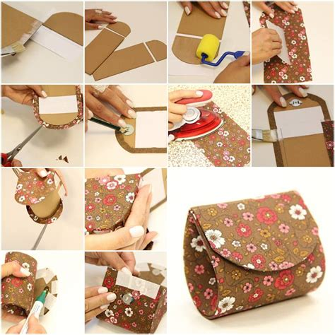 Handmade Pouch Tutorial - how to make your own beautiful designer money pouch step