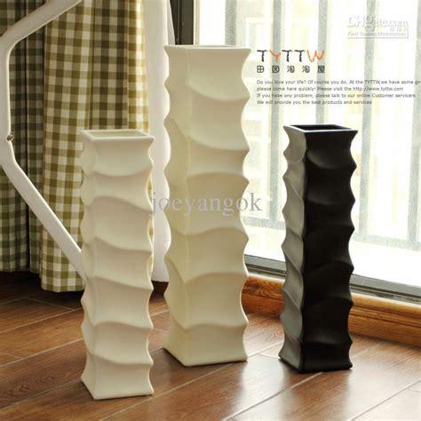 2018 Brief Capitales Bamboo Floor Vase Long Flower 42cm