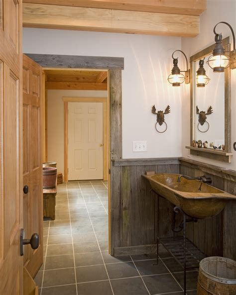 rustic bathroom ideas for small bathrooms western warmth the rustic bathroom