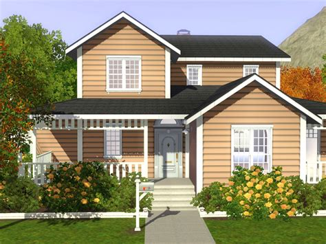 famili hause my sims 3 family house 01 by noel