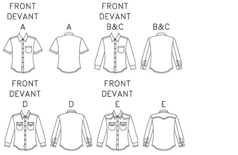 mens shirt pattern making pdf m6044 men s button down shirts sewing pattern mccall s