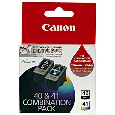 Canon 40 41 Perset Original canon pg 40 cl 41 combo pack office national