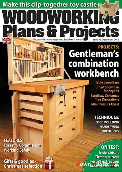 woodworking plans projects  december