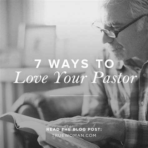 7 Ways To Enjoy More by 7 Ways To Your Pastor True Revive Our