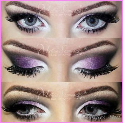 Eyeshadow For Dress what color makeup for a purple dress stylesstar