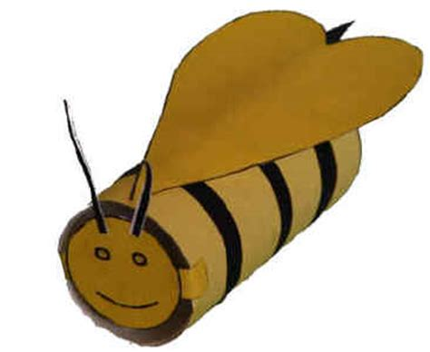 Dltk Toilet Paper Roll Crafts - bumblebee craft for