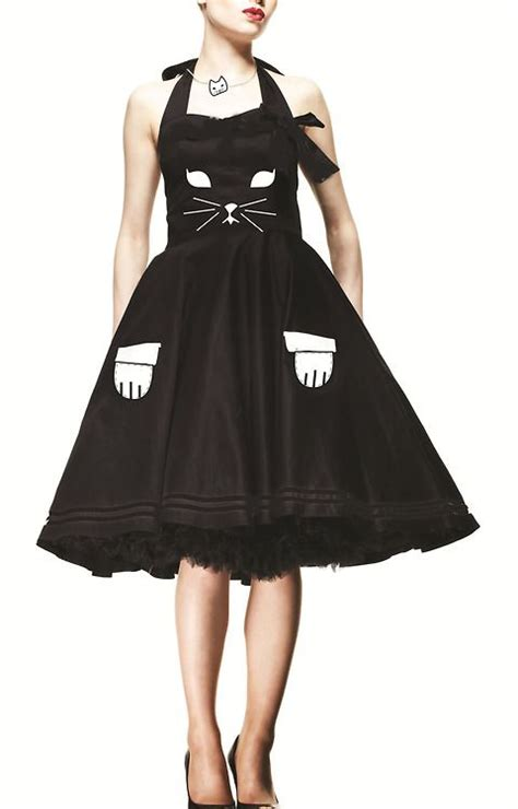 Dress Cat black cat dress fall