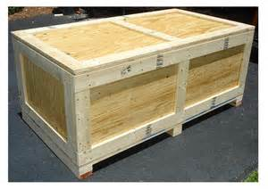 Plans To Build A Wooden Toy Box by Wooden Shipping Crate Viewing Gallery