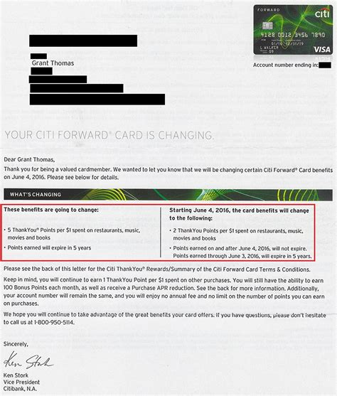 Credit Card Expiry Letter Which Credit Cards Will Replace My Citi Forward Credit Card After June 4