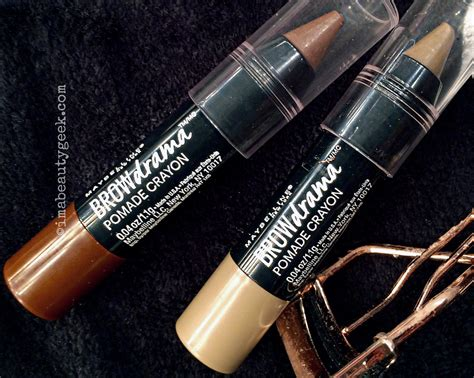 Maybelline Fashion Brow Pomade Crayon maybelline brow drama pomade crayon beautygeeks