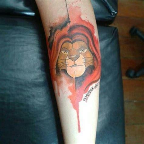 mufasa tattoo mufasa simba tatoo