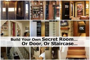 build your room build your own secret room or door or staircase