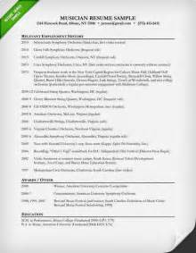 music resume template learnhowtoloseweight net