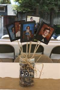 centerpiece for tables at a graduation for