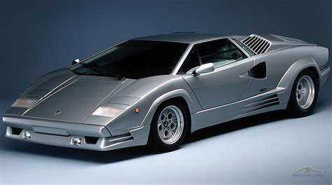 The Historic Lamborghini Countach Vintage Classic