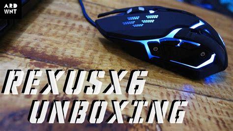 Rexus X6 mouse bagus gaharus mahal rexus x6