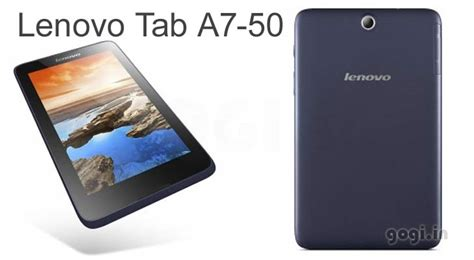 Tablet Lenovo A7 50 lenovo tab a7 50 with 3g support now available for rs 15499