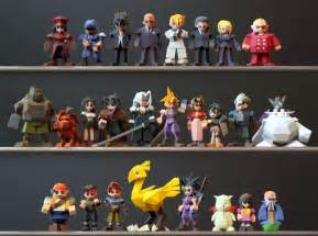 Desk Wedge The Set Is Now Complete Update On Ff7 Low Poly Figures