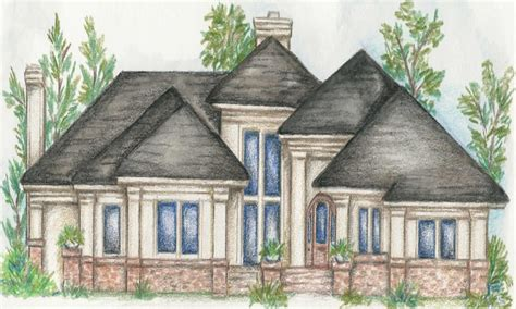 house plans luxury homes custom single story home plans one story luxury home