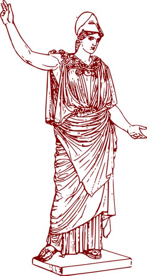 Greek Vase Outline Image Vectorielle Gratuite D 233 Esse Grecque Athena