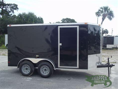 black trailer 6x12 ta trailer black r side door snapper trailers