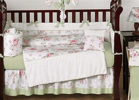 rose crib bedding rileys roses crib bedding set by sweet jojo designs 9