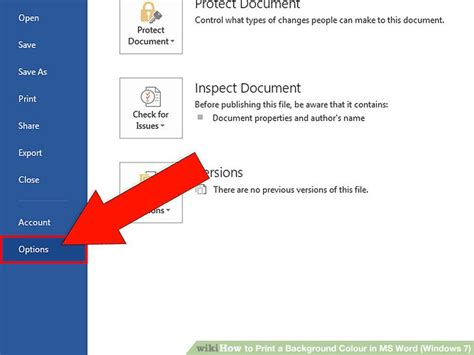 how to print in color how to print a background colour in ms word windows 7 4