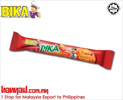 Cal Cheese Wafer Stick 330 G introducing the healthy and tasty quot pika cheese quot corn stick chocolate hanyaw