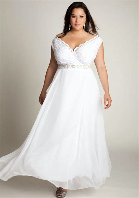 western wedding dresses plus