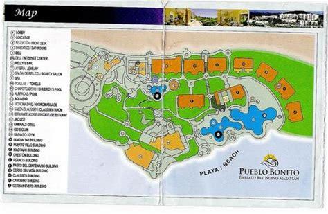 emerald resort map map of pueblo bonito emerald bay picture of pueblo