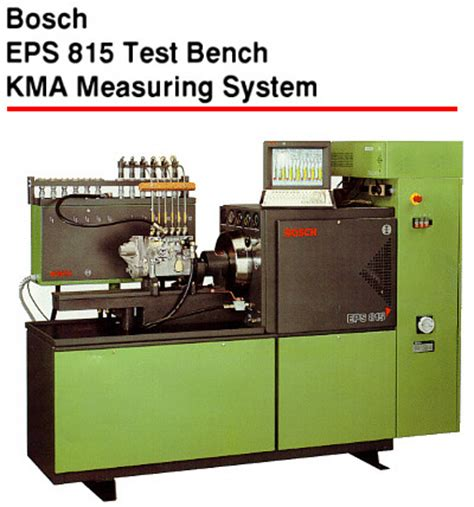 bosch test bench for sale the eps 815 test bench features a special design three