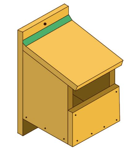 building your own wooden bird box how to build a bird
