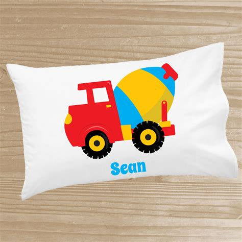 personalized pillowcase construction pillowcase
