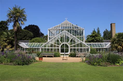 Cambridge Botanical Garden Cambridge Botanic Gardens The Glasshouses Oblique Exposure