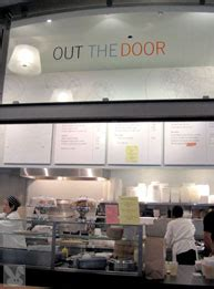Out The Door Ferry Building by Metro Menu Chow At San Francisco S Ferry Building