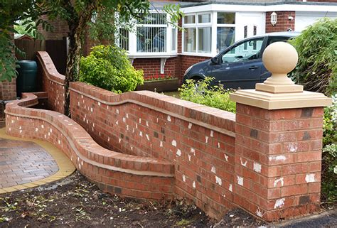 Brick Wall Installers Birmingham Brickwork And Garden Walls Garden Brick Walls