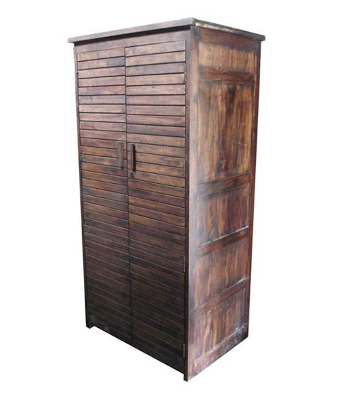Buy Wooden Wardrobe Induscraft Wooden Wardrobe Buy At Best Price In